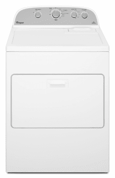 Whirlpool Cabrio WGD5000DW - White Front View