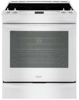 Whirlpool Wee730h0dw 30 Inch Slide In Range From