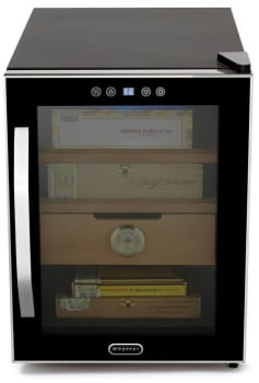 Whynter CHC122BD - Whynter Elite Touch Control Stainless 1.2 cu. ft. Cigar Cooler Humidor