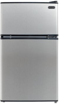 Whynter MRF340DS - 3.4 cu. ft. ENERGY STAR Stainless Steel Compact Refrigerator/Freezer