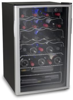 "Soleus WK6 - 21"" Freestanding Wine Cooler with 38 Wine Bottle Capacity"