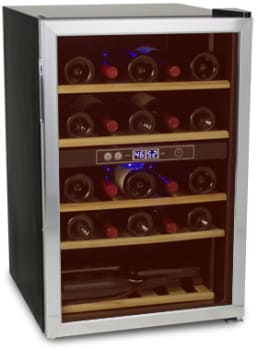 "Soleus WKD5 - 21"" Freestanding Wine Cooler with 37 Bottle Capacity"