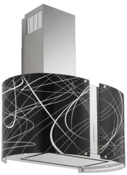 "Futuro Futuro Murano Echo Collection WL27MURECHOLED - 27"" Murano Echo LED Wall Range Hood"