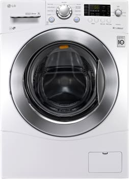 "LG WM1377HW - 24"" Compact Large Capacity Front Load Washer"