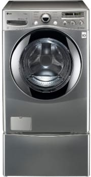 LG SteamWasher Series WM2655HVA - Graphite Steel