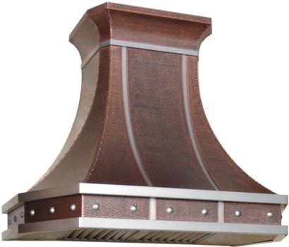 RangeCraft WM_MIAMI - Antique Hammered Copper with Stainless Trim