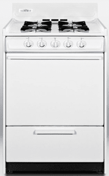 "Summit WNM610P - 24\"" Apartment Size Gas Range"