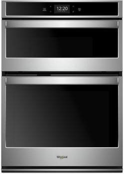 Whirlpool WOC75EC0HS - Black-on-Stainless Front