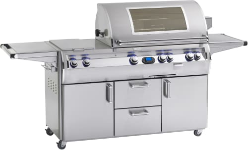 Fire Magic Echelon Collection E790S4EAN71W - Echelon Diamond E790s Grill with Double Side Burner and Magic View Window (Digital Model Shown)