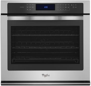 "Whirlpool WOS97ES0ES - 30"" Single True Convection Electric Wall Oven with 5.0 cu. ft. Capacity"