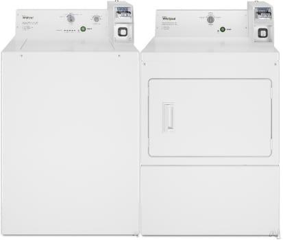 Whirlpool Commercial Laundry WPWADREW2745 - Side-by-Side