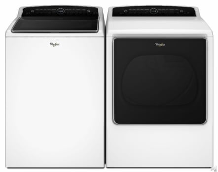 Whirlpool Cabrio WPWADRGW4 - Side-by-Side