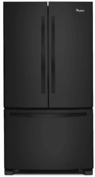 Whirlpool WRF532SMBB - Black Front View