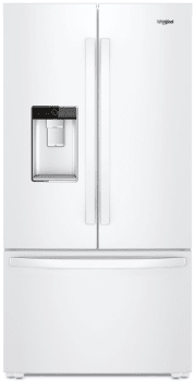 Whirlpool WRF954CIHW - White Front View