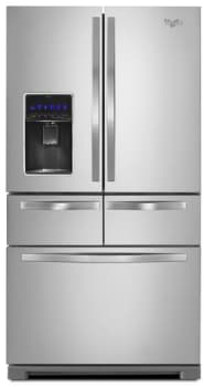 Whirlpool WRV976FDEM - 26 cu. ft. Double Drawer Refrigerator with Dual Cooling System