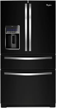 Whirlpool WRX735SDBE - Black Ice Front View