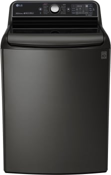 LG TurboWash Series WT7700HKA - Black Stainless Steel Top Load Washer from LG