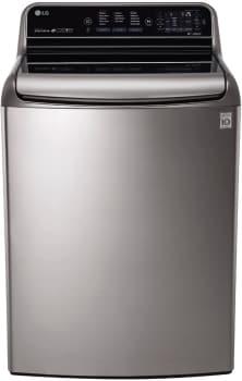 LG WT7710HVA - MEGA Capacity Graphite Steel Washer from LG