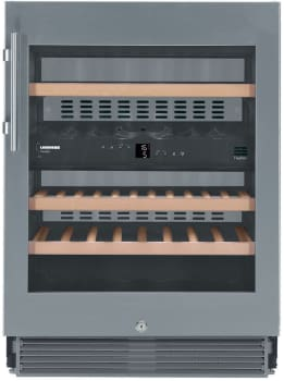 "Liebherr WU3400 - 24"" Dual Zone Wine Cabinet - Featured View"