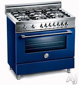 Bertazzoni Professional Series X365GGVBL - Blu / Blue Of 6 Burners Model