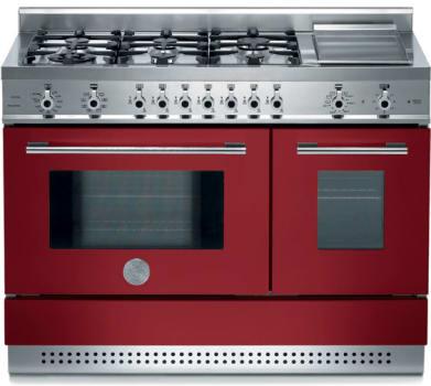 Bertazzoni Professional Series X486GPIR - Burgundy / Vino