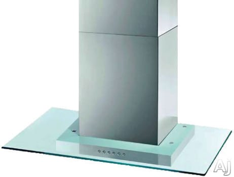 XO XOQ36G - XOQ Wall Mount Flat Glass Canopy Chimney Hood with 600 CFM Blower