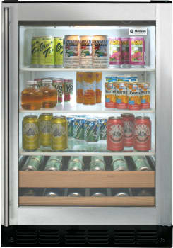 Monogram Zdbc240nbs 24 Inch Built In Beverage Center With