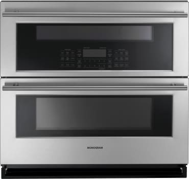 "Monogram ZET1DJSS - Monogram 30"" Built-In Single-Double Convection Wall Oven"