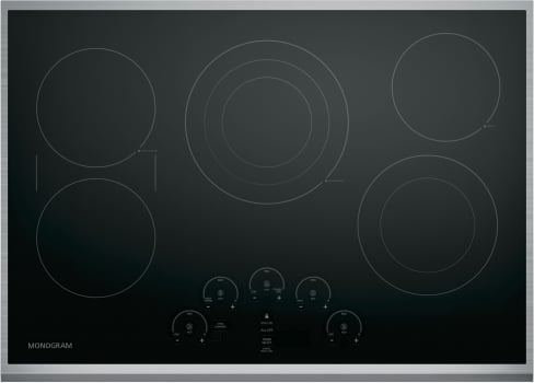 "Monogram ZEU30RSJSS - 30"" GE Monogram Touch Control Electric Cooktop"