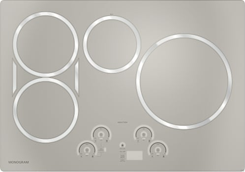 "Monogram ZHU30R - 30"" GE Monogram Induction Cooktop (Silver)"