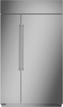 Monogram ZISS480NNSS - Built-In Side-by-Side Refrigerator Handles Not Included