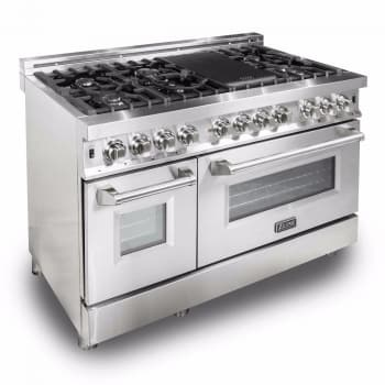 Zline Ra48 48 Inch Dual Fuel Range With