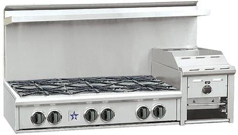 BlueStar Heritage Classic Series RGTNB486GHCV1 - Stainless Steel
