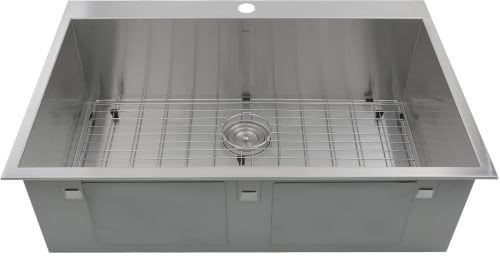 Nantucket Sinks Pro Series ZR3322S16 - Main View with Grid