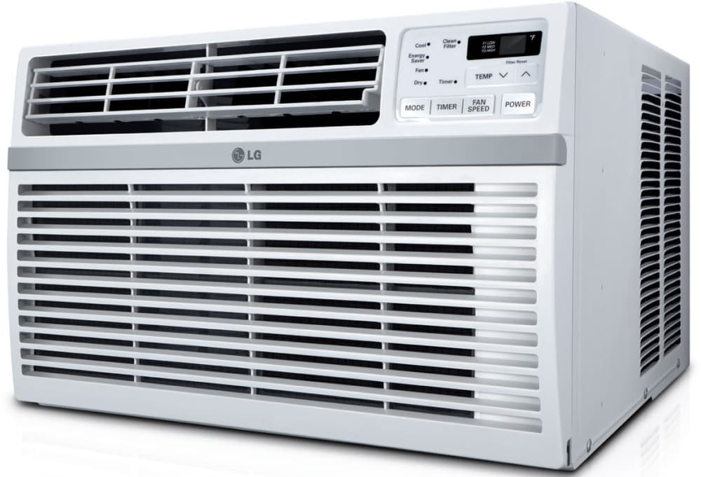 Lg Lw1514er 15 000 Btu Room Air Conditioner With 11 2 Eer 4 0 Pts Hr Dehumidification 800 Sq Ft Cooling Area Auto Restart 24 Hr Timer And Remote Control