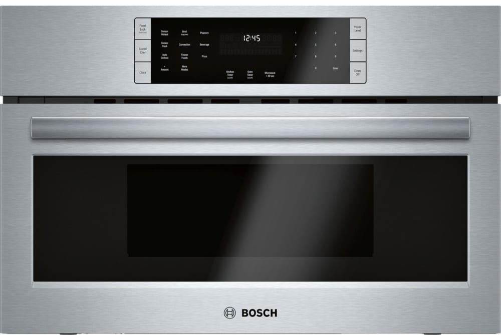 Bosch HMCP0252UC 30 Inch Speed Oven with 1.6 cu. ft. Capacity, 1,000W  Microwave Power, Convection, 10 Power Levels, 9 SpeedChef Cycles for Faster  Cooking and Kitchen TimerAJ Madison
