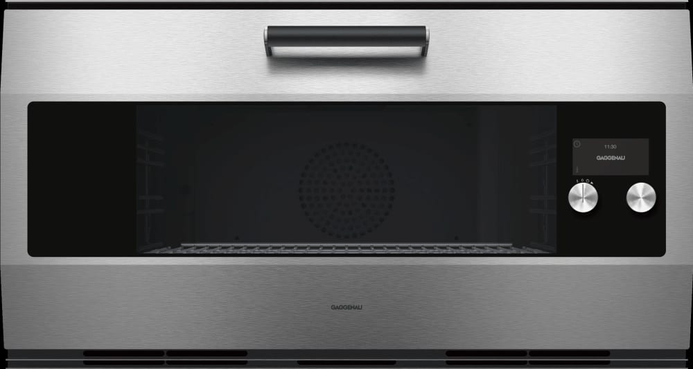 Gaggenau Eb333611 36 Inch Electric Smart Wall Oven With Wifi Connectivity Home Connect 3 6 Cu Ft Oven Capacity Convection Oven Pyrolytic Self Cleaning Child Lock Halogen Lighting Tft Touch Display Three Point Core Temperature