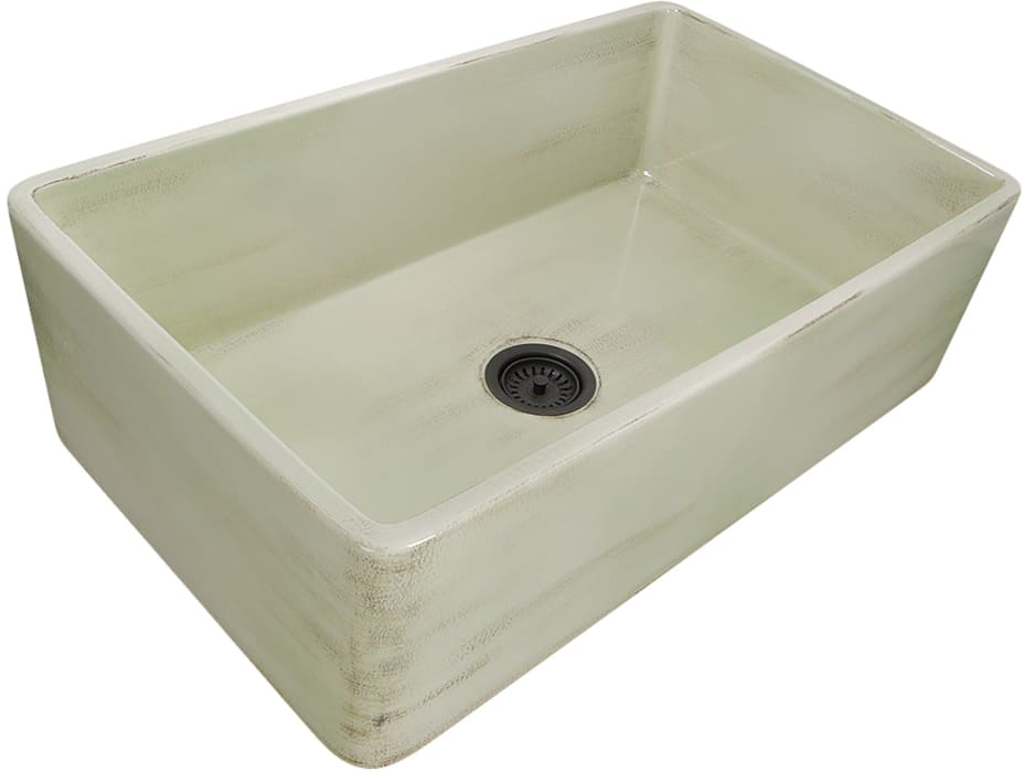 Nantucket Sinks Vineyard Collection FCFS3320SSHABBYGREEN