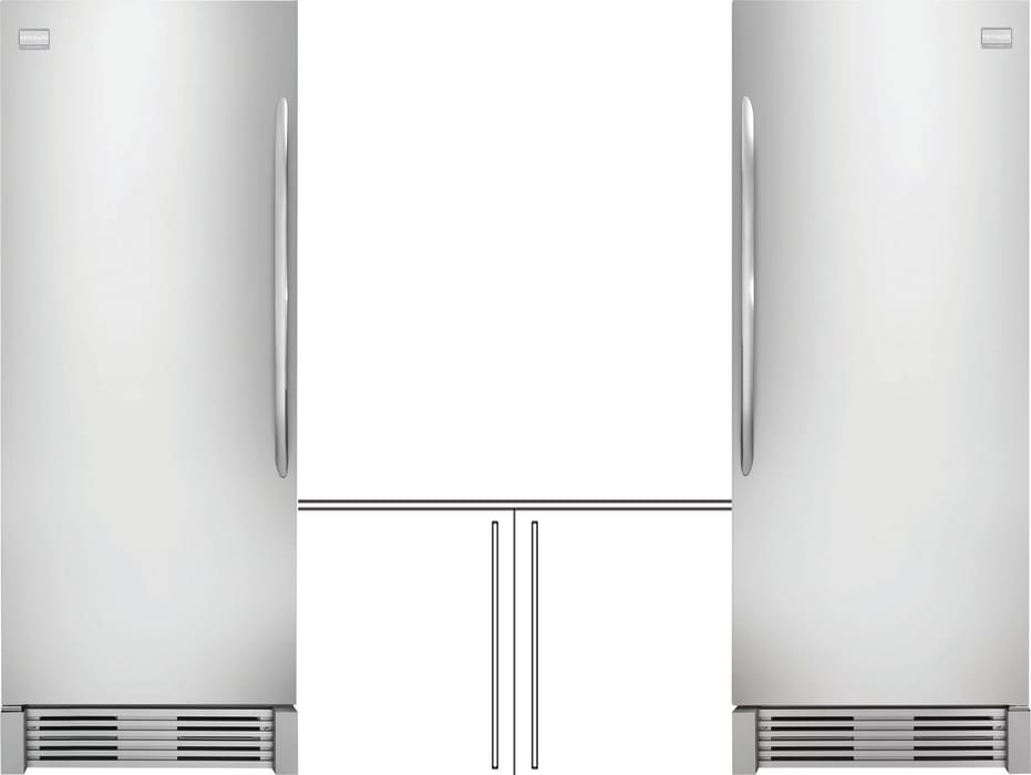 Separate Install Column Refrigerator