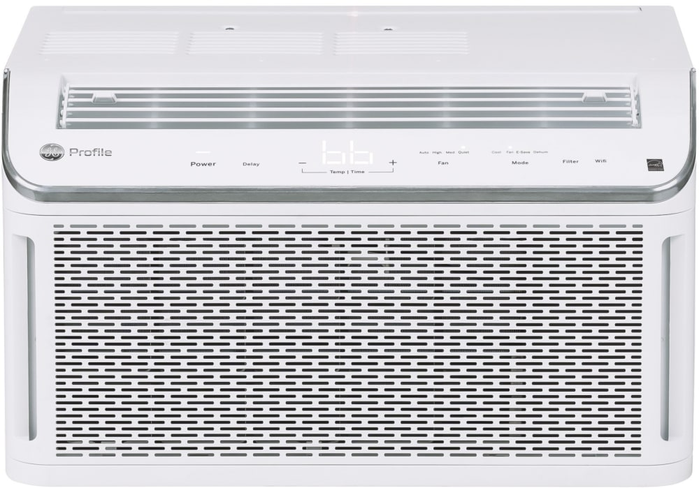 Ge Phc06ly 6 000 Btu Ez Mount Smart Window Air Conditioner With 12 1 Ceer 115v Wifi Connect Ultra Quiet Connected Voice Control Auto Dimming Delay Timer Filter Reset Sleep Mode Dehumidify Function Digital Time