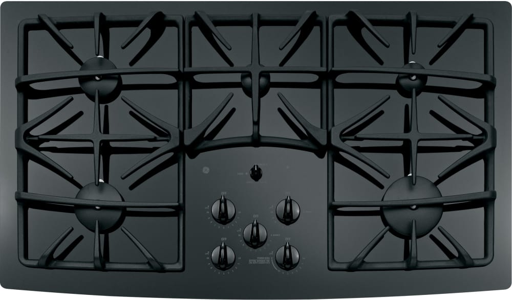 Ge Jgp970bekbb 36 Inch Gas Cooktop With, Ge Glass Top Range Burner Replacement