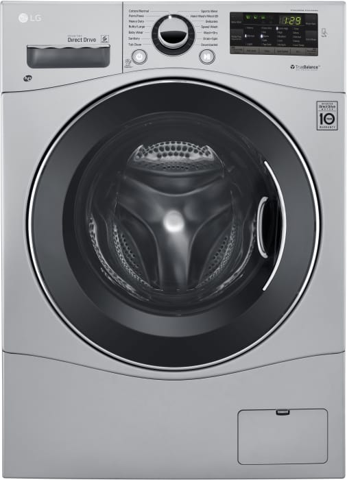 Lg Wm3488hs 24 Inch Front Load Washer Dryer Combo With 2 3 Cu Ft Capacity 14 Wash Cycles 10 Wash Options Steam Sanitary Cycle 1 400 Rpm Nfc Tag On Technology 4 Tray Dispenser Loadsense