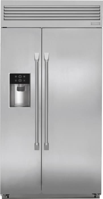 Monogram Zisp420dkss 42 Inch Built In Side By Side Refrigerator