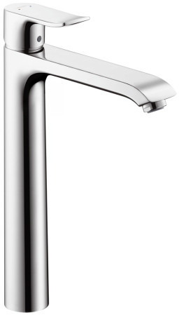 Hansgrohe 31082001 Single Lever High Riser Bathroom Faucet With 7 3 4 Inch Re
