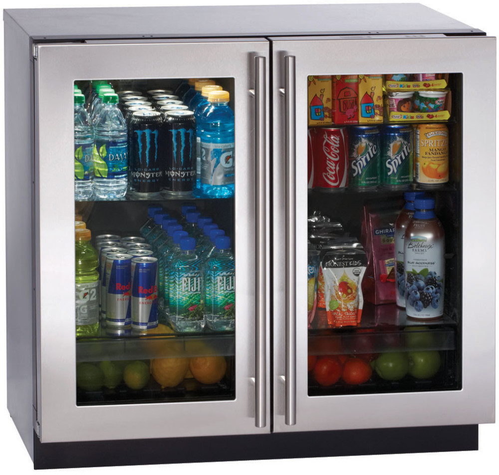u line 3036rrgl 36 inch undercounter all refrigerator with. Black Bedroom Furniture Sets. Home Design Ideas