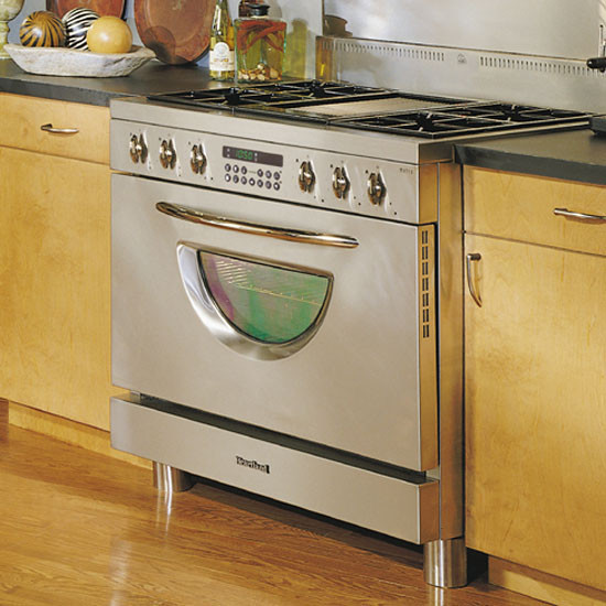 Heartland 3635 36 Inch Professional Dual Fuel Range With