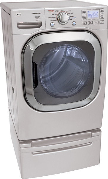 Lg Dlex3001p 27 Inch Front Load Electric Dryer With 7 4 Cu