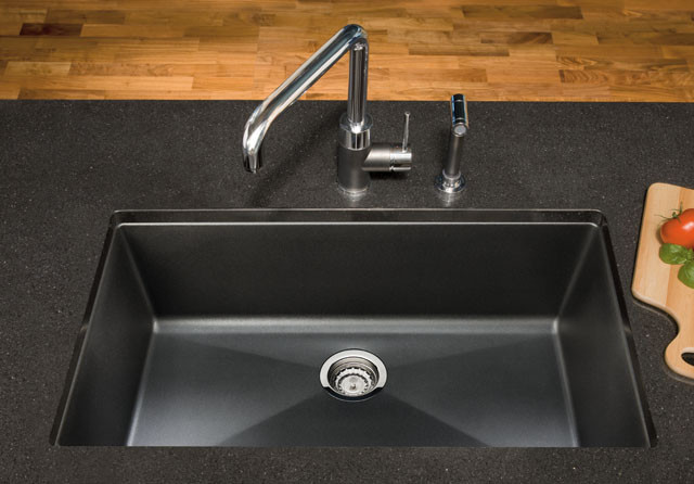 Blanco 440149 32 Inch Undermount Single Bowl Granite Sink