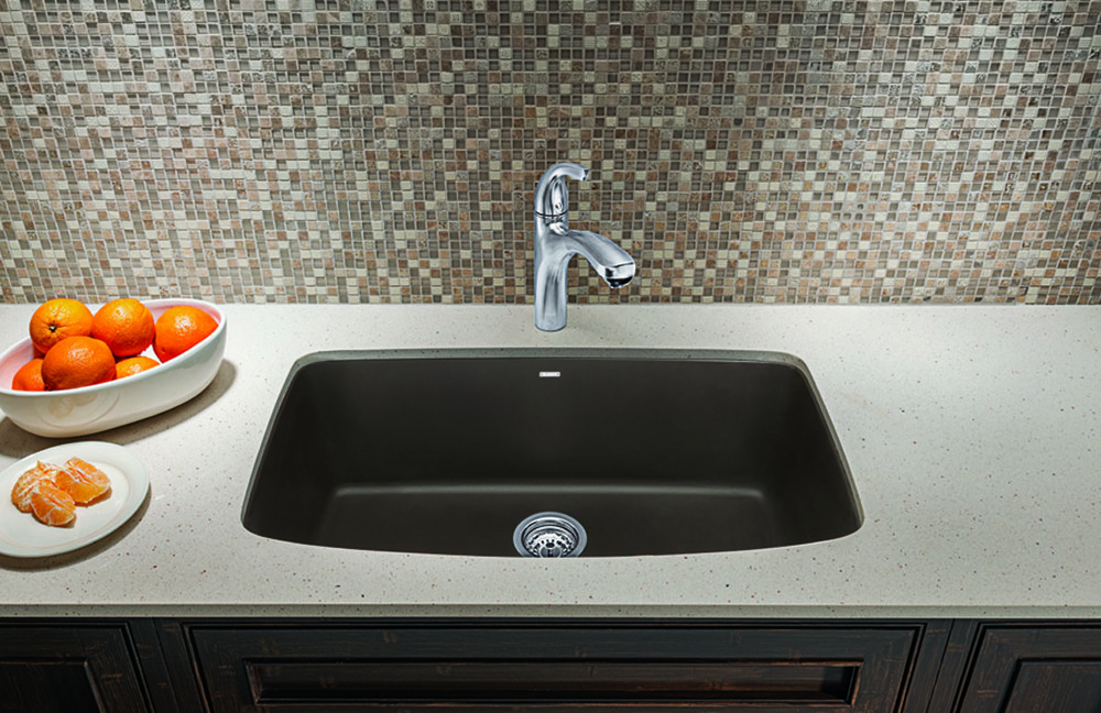 Blanco 441610 32 Inch Undermount Single Bowl Granite Sink