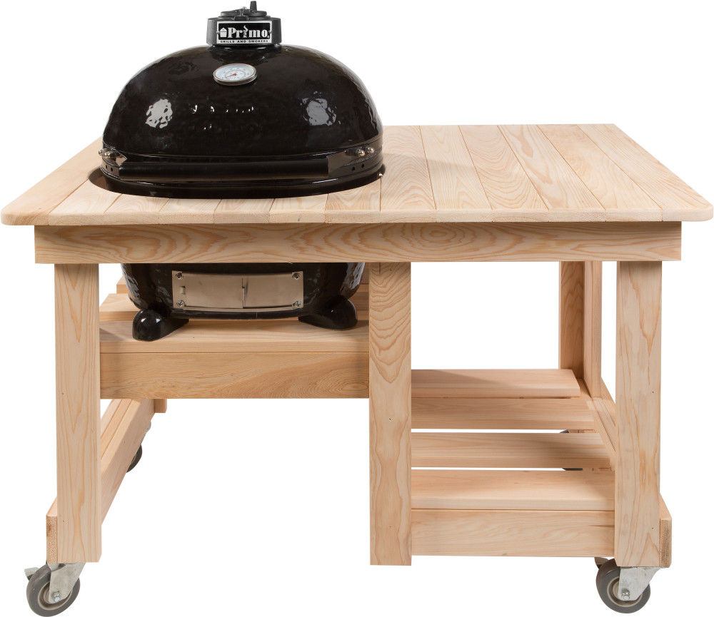 Primo 613 Countertop Cypress Grill Table